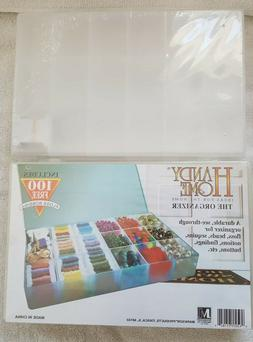 Plastic Crafts Organizer Compartment Box 1.5 x 6.75 x 10.5 S