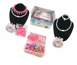 Pop Snap Beads for Girls - Art Crafts Toys for 3, 4, 5, 6, 7