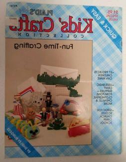 Quick & Easy Kids' Crafts Collection #8181 By Shirley Burges