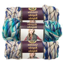 Lion Brand Yarn 795-205 Quickie Yarn, Icy NIP 3 oz 22 yds