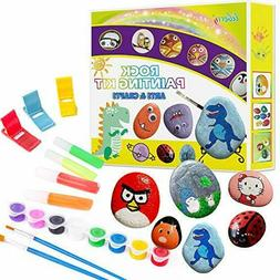 rock painting kit for kids arts