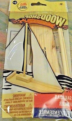 Sail Boat DIY Craft Kit for boys and girls ages 5+ Wood Shop