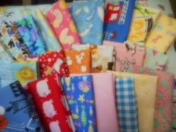 """Scrap Cotton Fabric,Family Bundle for Mask/Crafts, 9"""" x 14"""""""