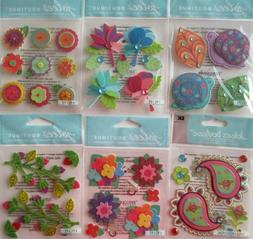 Scrapbooking Craft Stickers Jolee's Boutique Lot COLORFUL St