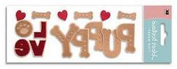 Scrapbooking Crafts Stickers Jolee's Puppy Love Hearts Bones
