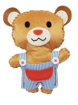 Sewing Crafts for Kids Teddy Bear DIY Kit for Boys and Girls