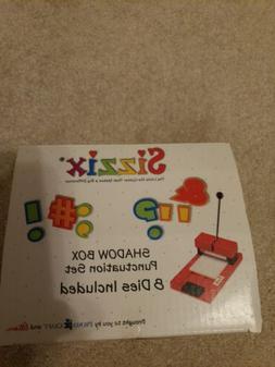 Sizzix Shadow Box Punctuation Set of 8 dies: scrapbooks, pap
