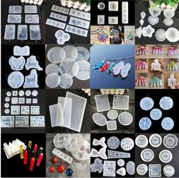 Silicone Resin Mold for DIY Jewelry Pendant Making Tool Moul