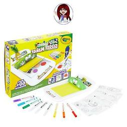 Crayola Silly Scents DIY Sticker Maker! Create your own scen