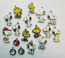 Snoopy Charms Metal Charm Pendants DIY Necklace Jewelry Maki