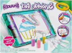 Crayola Sprinkle Art Shaker, Rainbow Arts and Crafts for Gir