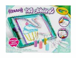 Crayola Sprinkle Art Shaker, Rainbow Arts & Crafts for Girls