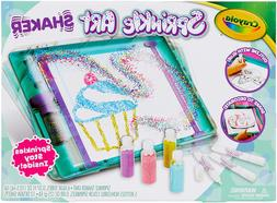 Crayola Sprinkle Art Shaker, Rainbow Arts  Crafts For Girls,
