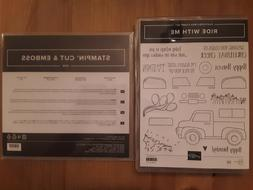 Stampin Up Ride With Me Stamp Set & Truck Ride Dies