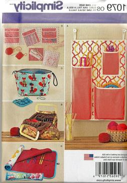 Storage Accessories for Needlework Crafts Simplicity Pattern