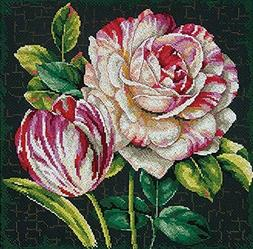 Dimensions Crafts 70-35314 Tulip Drama Counted Cross Stitch