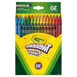 Crayola - Twistables Colored Pencils, 30 Assorted Colors/Pac