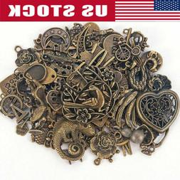 Vintage 50g/pack Steampunk Mixed Jewelry Making Mixed Charms