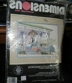 Dimensions VTG NIP Counted Cross Stitch Tides Inn  By Mildre