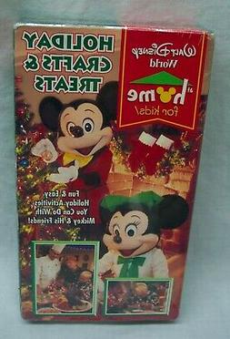 Walt Disney World At Home for Kids HOLIDAY CRAFTS & TREATS V