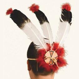 Warrior 3 Feather Indian Headdress Kid Child DIY kit Native