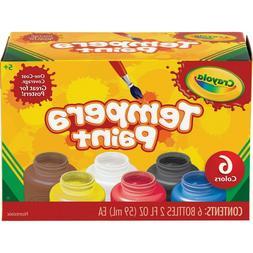 Crayola Washable Kids Paint 2 Oz Bottles Assorted Colors Kid