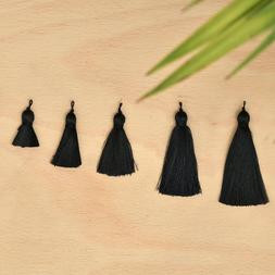 Xsotica® Silk Tassel Black,DIY Craft Supplies Handmade Jewe
