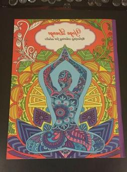 Yoga Lounge Relaxing Coloring for Adults Adult Coloring Book